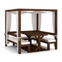 Cama Balinesa, modelo Convertible