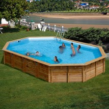 Ávila Piscina ovalada