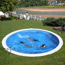 Madagascar Piscina circular