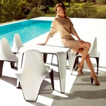 Silla apilable by Vondom