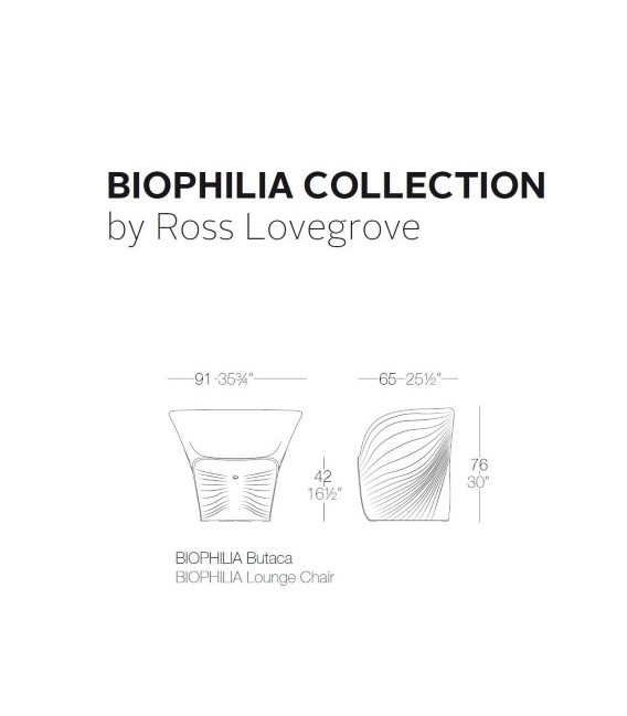 Butaca biophilia by Vondom