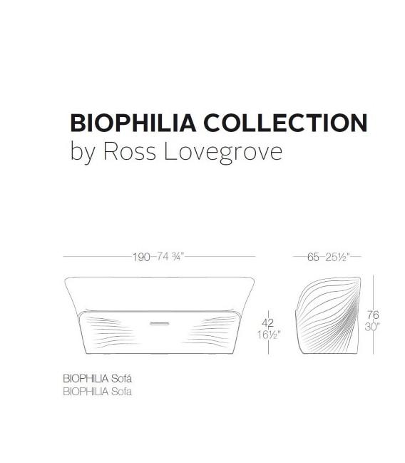 Sofá Biophilia by Vondom