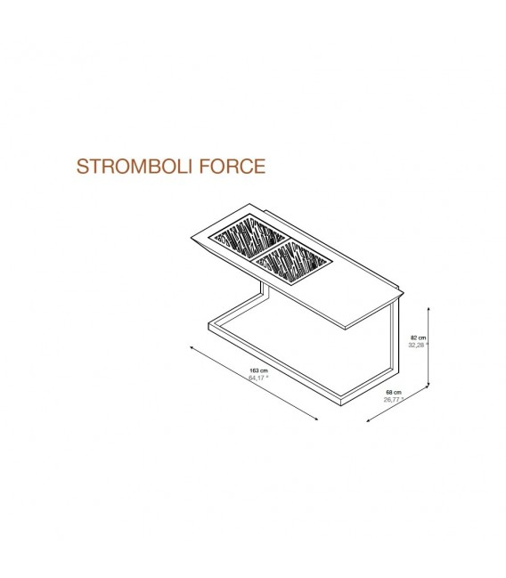 Stromboli Force Barbacoa
