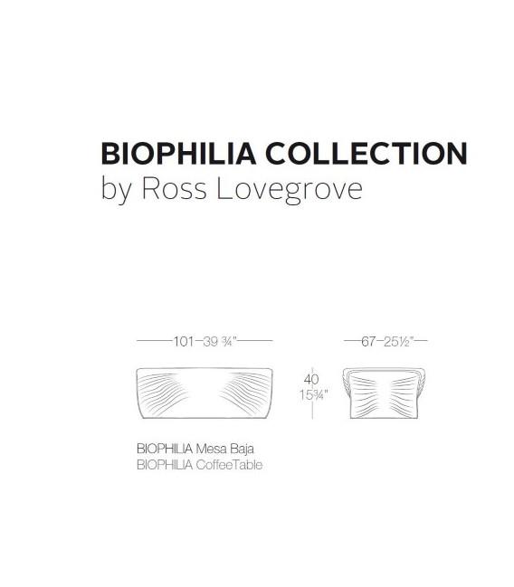 Mesa biophilia by Vondom