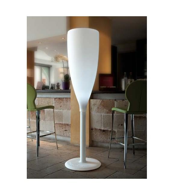 Lámpara forma copa de cava