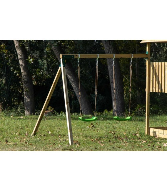 Tibidabo Parque Infantil + Columpio Doble