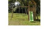 Parque Infantil Tibidabo con Casita + Columpio Doble