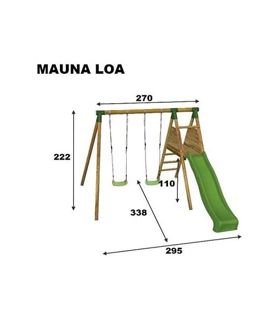 Mauna Loa con rampa Parque Infantil