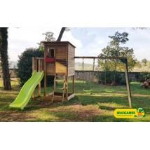 Taga Parque Infantil + Columpio Doble