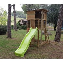 Parque Infantil Taga Escalada + Columpio Doble
