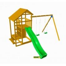 Parque Infantil Teide XL + Columpio Doble
