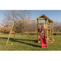 Teide XL Parque Infantil + Columpio Doble