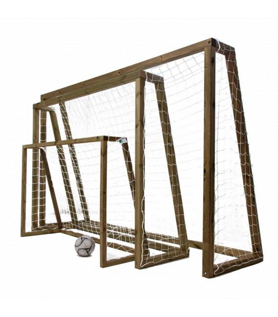 Portería madera XL