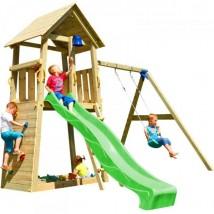 Parque Infantil Belvedere XL+ Columpio Doble