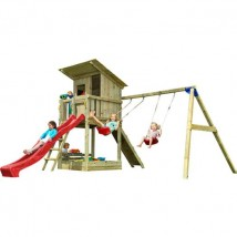 Parque Infantil Beach Hut XL + Columpio Doble