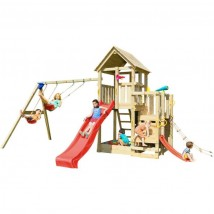 Parque Infantil Penthouse XL + Columpio Doble