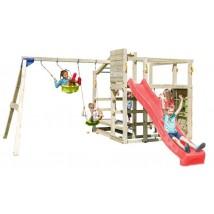 Parque Infantil Crossfit + Columpio Doble