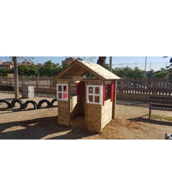 Fresita XL School Casita (Pintada)