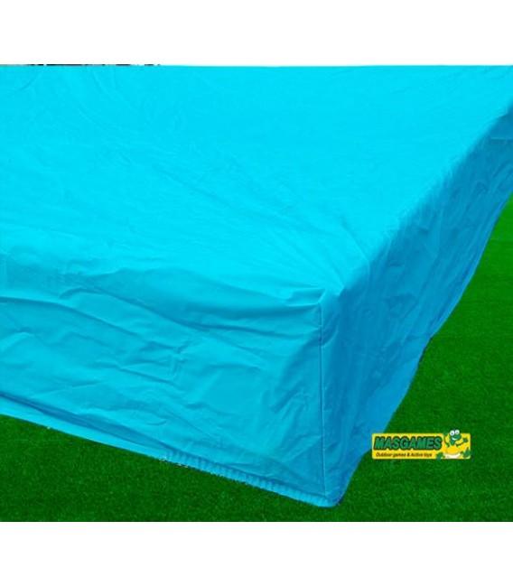 Arenero rectangular con cubierta