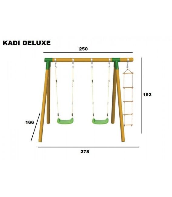 Columpio Triple Kadi Deluxe