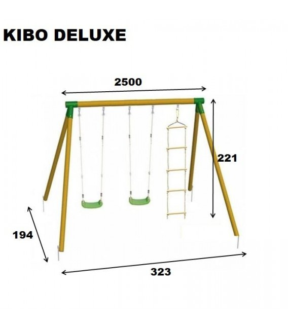 Kibo Deluxe Columpio