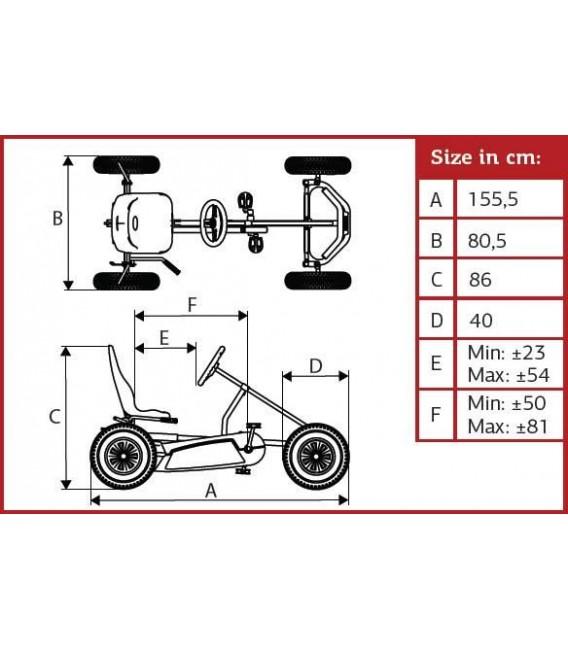 Kart de pedales Berg Basic BFR