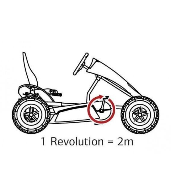 Kart de pedales Berg Extra Sport Blue BFR-3