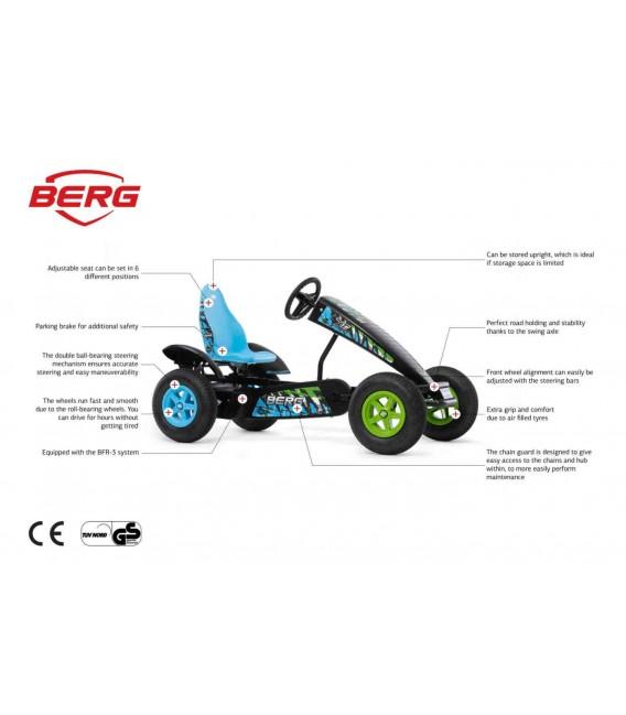 Kart de pedales Berg X-ite BFR 3