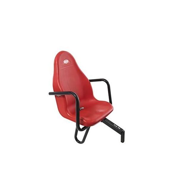 Asiento de Pasajero Basic/Extra Rojo