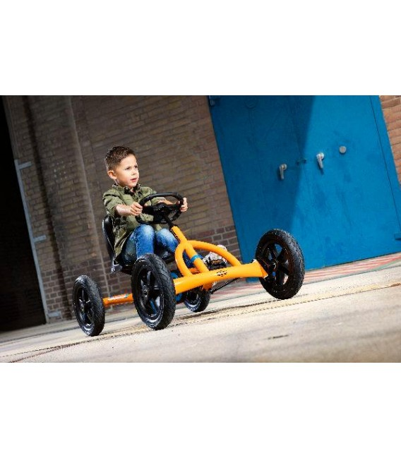 Kart de pedales Berg Buddy B-Orange