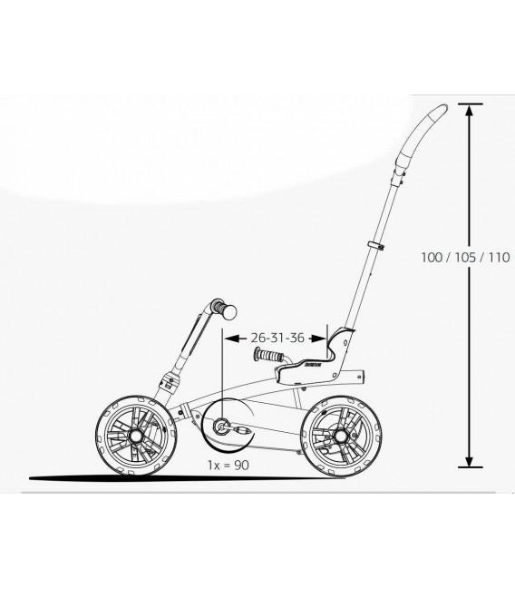 Coche de pedales Evolutivo Berg Buzzy Bloom 2 en 1