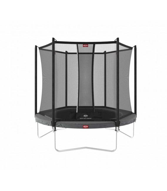 Cama Elástica Berg Favorit Regular 200 Grey + Red Comfort