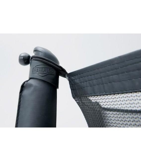 Cama Elástica Berg Favorit Regular 270 Grey + Red Comfort