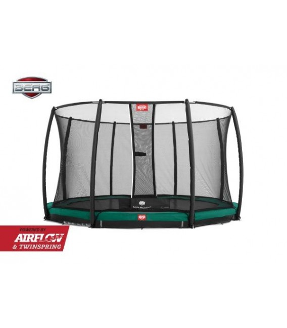 Cama Elástica Berg Champion 270 Green + Red Deluxe