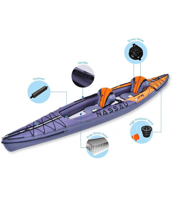 Kayak hinchable Zray Nassau