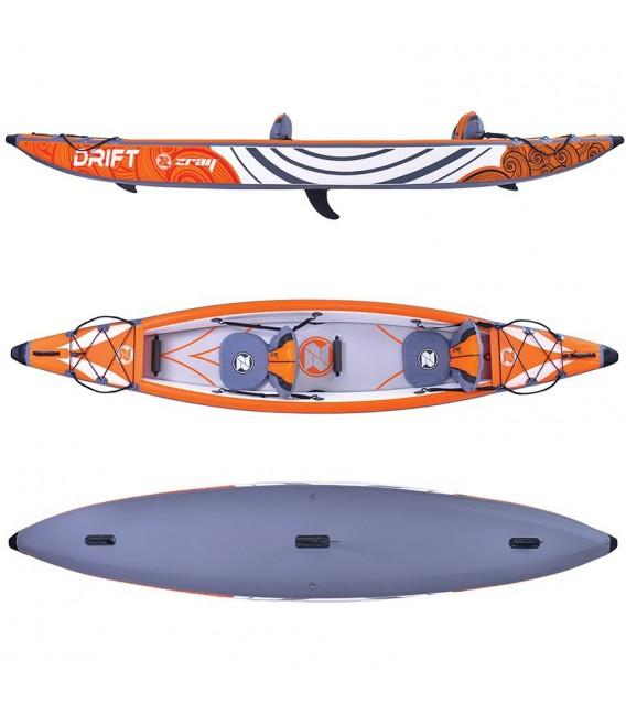 Kayak hinchable Zray Drift