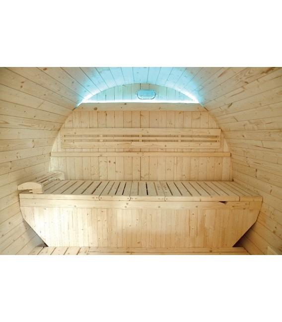 Sauna Exterior de Vapor Gaïa Luna