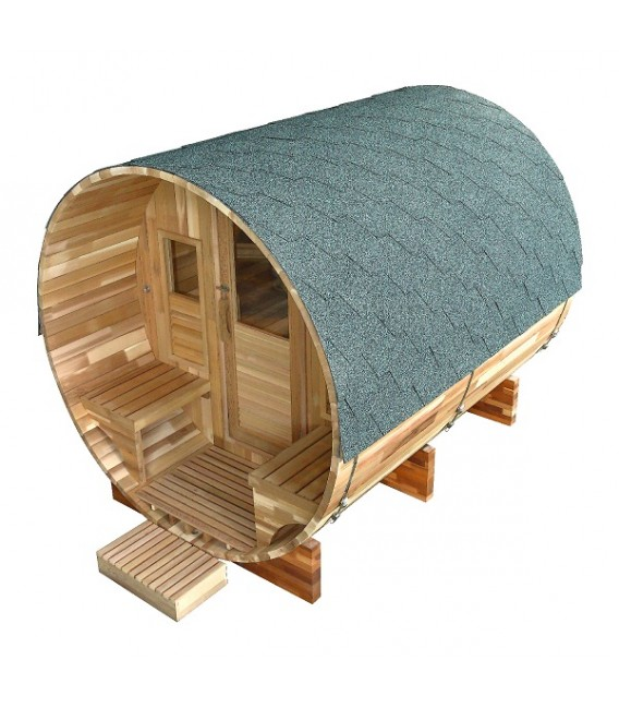 Sauna Exterior de Vapor Gaïa Rossa