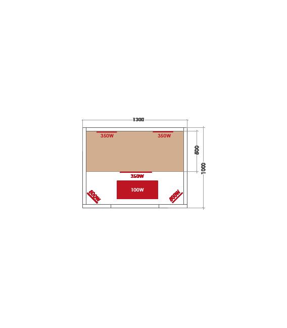 Sauna Infrarrojos Multiwave 2 Personas