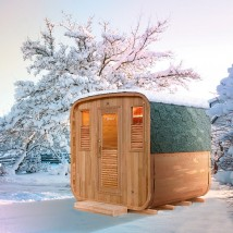 Sauna Exterior de Vapor Gaïa Nova