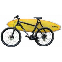 Porta tabla surf bicicleta