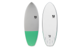 "Tabla Surf 5'6"" Marshmallow Green"
