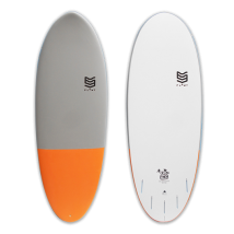 Tabla Surf 5'6 Marshmallow Orange