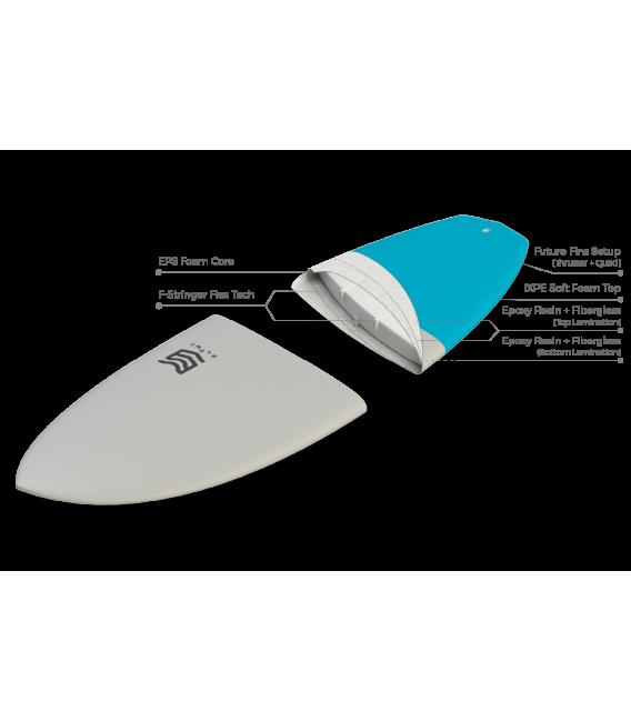 Tabla Surf 5'6 Marshmallow Orange