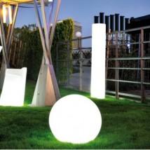 Lámpara de forma cilíndrica
