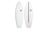 "Tabla Surf dura 6'0"" Magnet Fish"