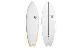 "Tabla Surf dura 6'4"" Magnet Fish"