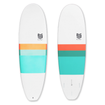 "Tabla Surf dura 6'0"" Mini Malibu"