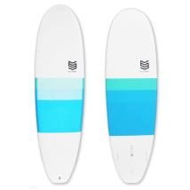 "Tabla Surf dura 6'4"" Mini Malibu"