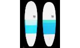 """Tabla Surf dura 6'4"""" Mini Malibu"""